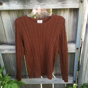NWOT brown sweater!!